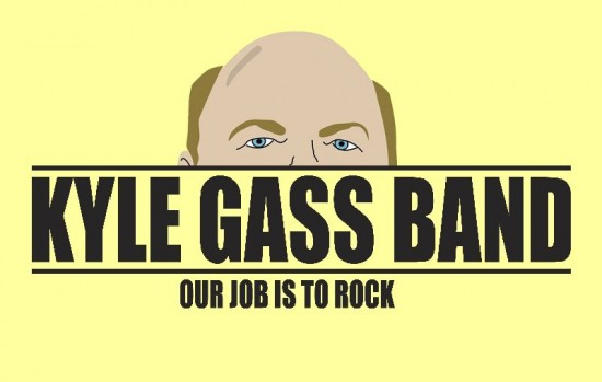 Kyle Gass Band à Paris !